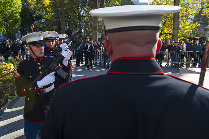 20181111©DAYVetsDay9841.jpg The 100th Anniversary of the WW1 Armistiice was commemorated by the Vets Day Parade rolling up 5th Avenue.