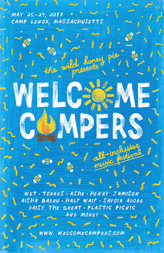welcome campers embed