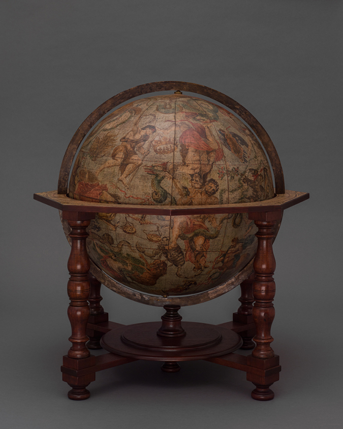 harry-potter-celestial-globe-Vincenzo Coronelli-Celestial globe Venice-Yale University