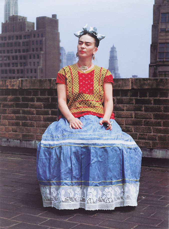 Frida in New York ©Nickolas Murray - Print Brooklyn Museum