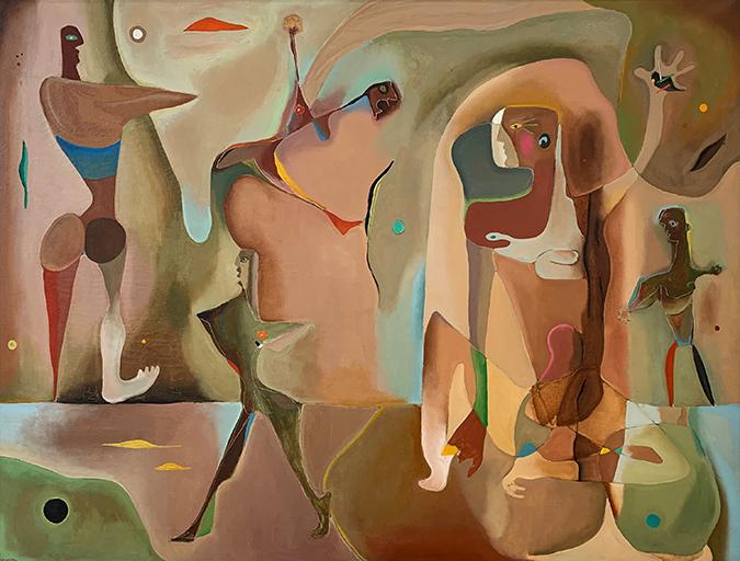 Peter Miller_Five Ceremonial Dancers
