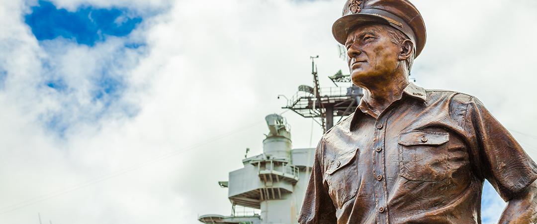 admiral chester nimitz - Benny Marty - shutterstock