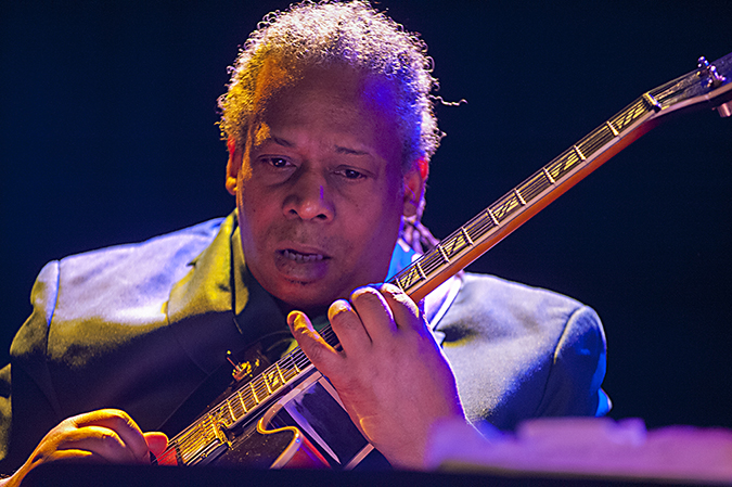 """20190110©DayWinterJazzFest4882.jpg The 15th Anual Winter JazzFest played over a cold weekend from January 5th- January 12th. Bruce Edwards playing Thursday night at Le Poisson Rouge with Gary Bartz; 50 year Anniversary of """"Another Earth"""""""