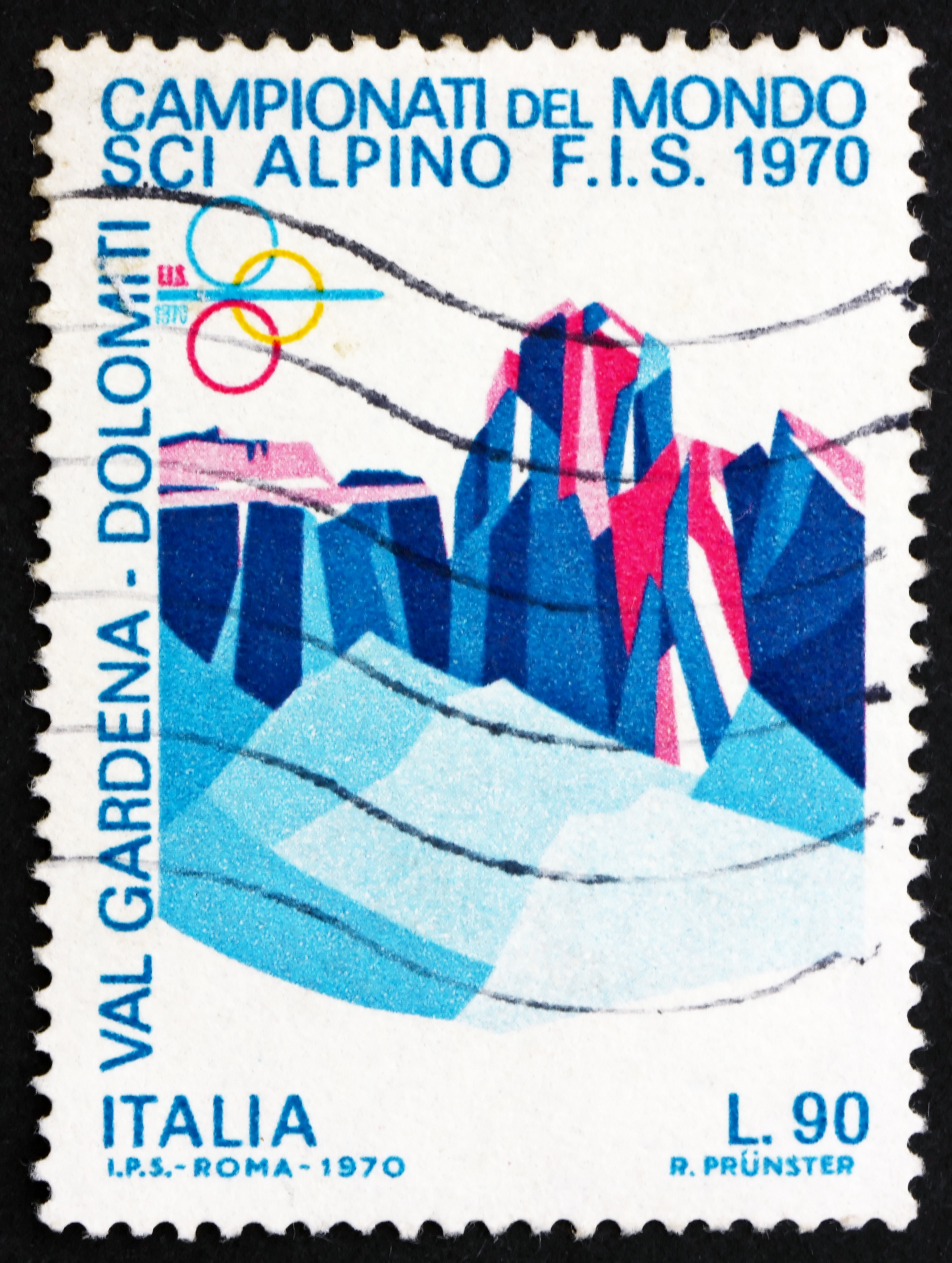 italian dolemites stamp - Boris15 - shutterstock
