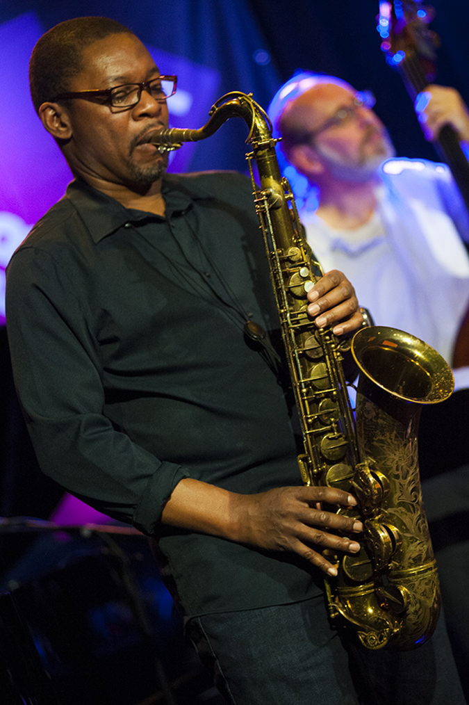 20190111©DayWinterJazzFest5643.jpg The 15th Anual Winter JazzFest played over a cold weekend from January 5th- January 12th. Ravi Coltrane playing Friday night at Le Poisson Rouge with Ralph Alessi and This against That.