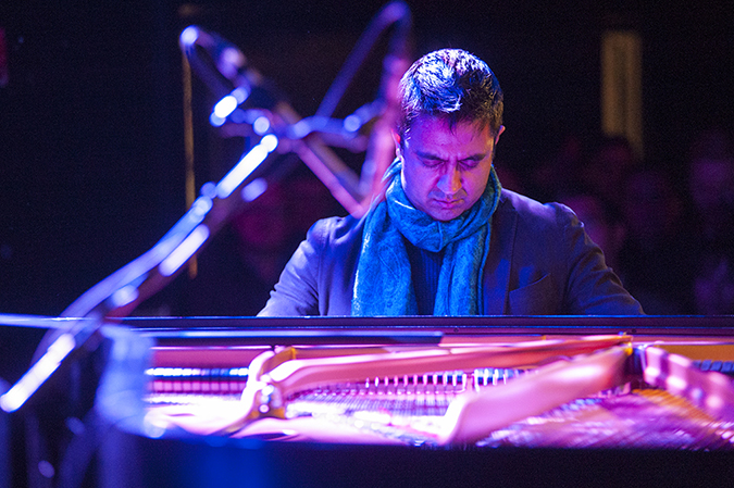20190111©DayWinterJazzFest5786.jpg The 15th Anual Winter JazzFest played over a cold weekend from January 5th- January 12th. Vijay Iyer playing Saturday night at Le Poisson Rouge with Craig Taborn.