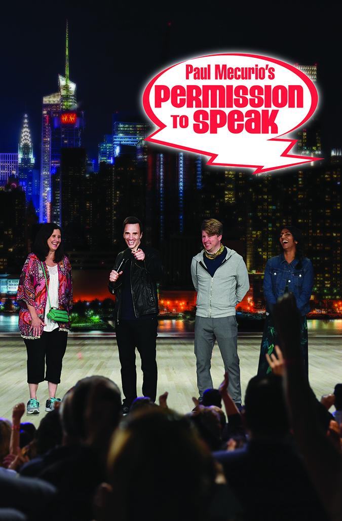 Permission to Speak - Program Cover - Color Logo