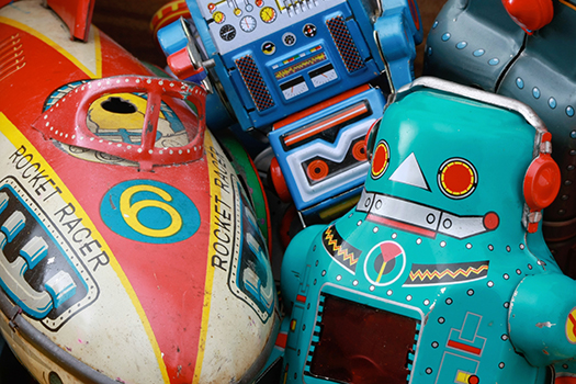 Retro Toys - charles taylor - shutterstock