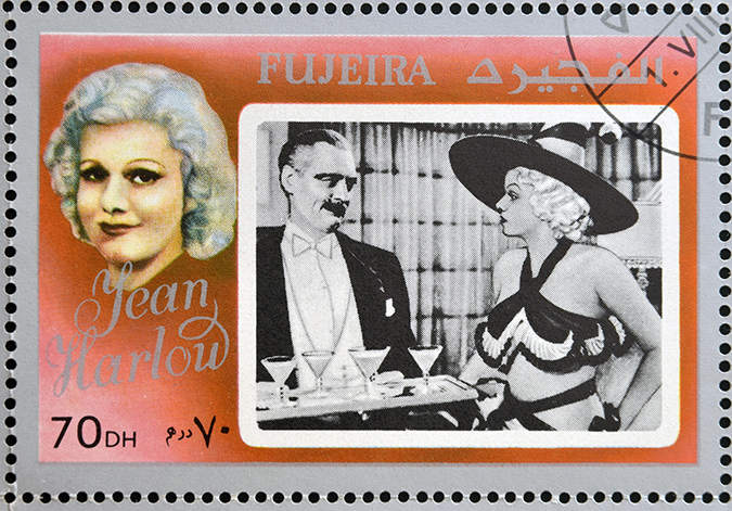 jean harlow stamp - neftali - shutterstock - embed
