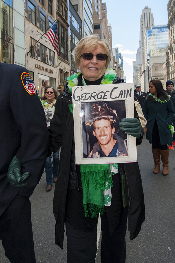 20190316©DayStPatsPrd7332.jpg The 258th ST Patrick's parade kicked off on a crisp mostly cloudy Saturday morning. Hundreds of thousands watched 150,000 participants march up Fifth Ave as the bands played and bagpiper sang the usual Irish fare.