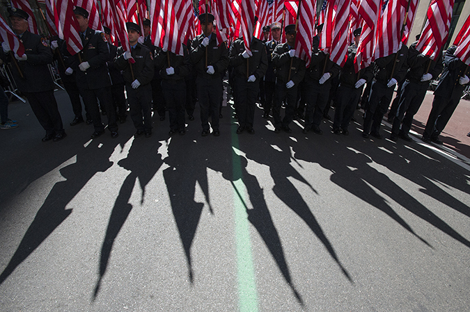 20190316©DayStPatsPrd7254.jpg The 258th ST Patrick's parade kicked off on a crisp mostly cloudy Saturday morning. Hundreds of thousands watched 150,000 participants march up Fifth Ave as the bands played and bagpiper sang the usual Irish fare.