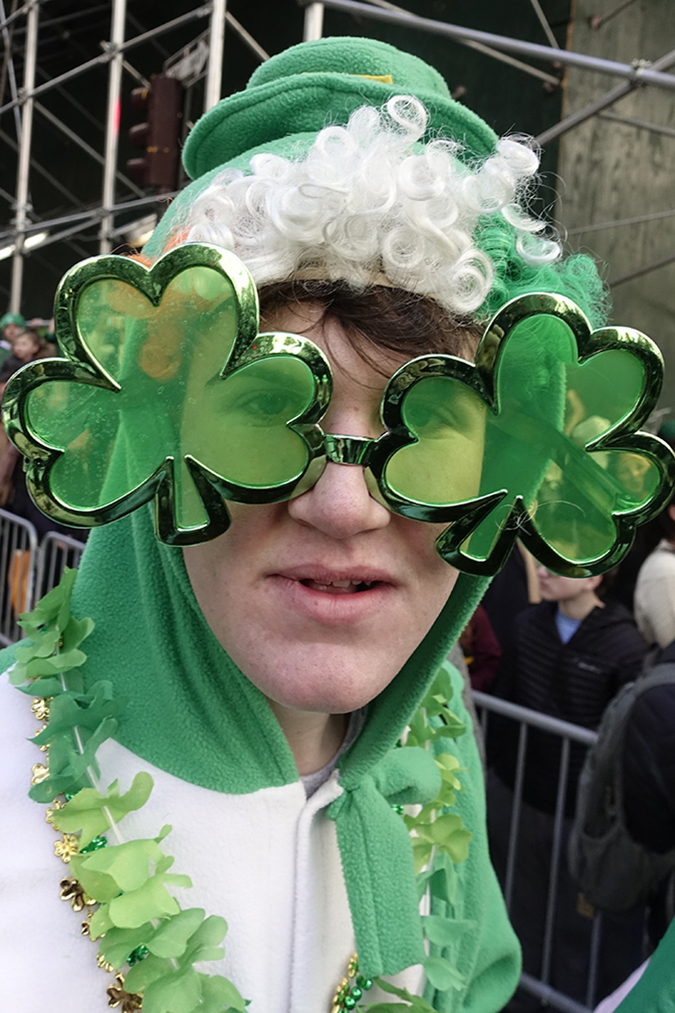20190316©DayStPatsPrd5347.jpg The 258th ST Patrick's parade kicked off on a crisp mostly cloudy Saturday morning. Hundreds of thousands watched 150,000 participants march up Fifth Ave as the bands played and bagpiper sang the usual Irish fare.