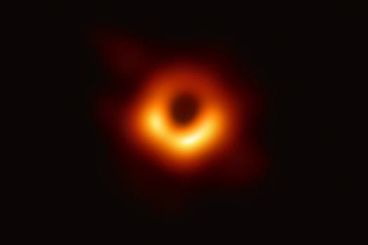 black hole photo - Event Horizon Telescope collaboration et al.