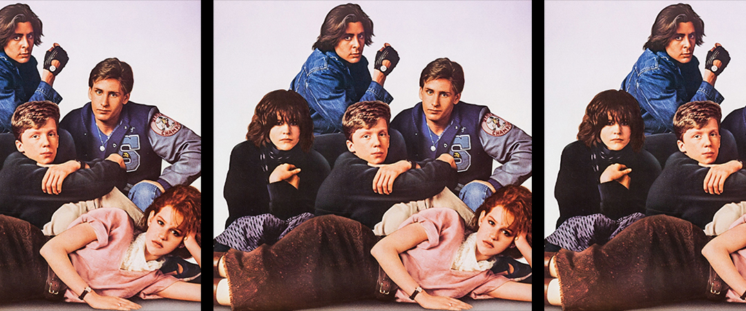 breakfast club poster - universal studios home entertainment