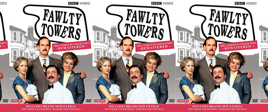 fawlty towers dvd - bbc video