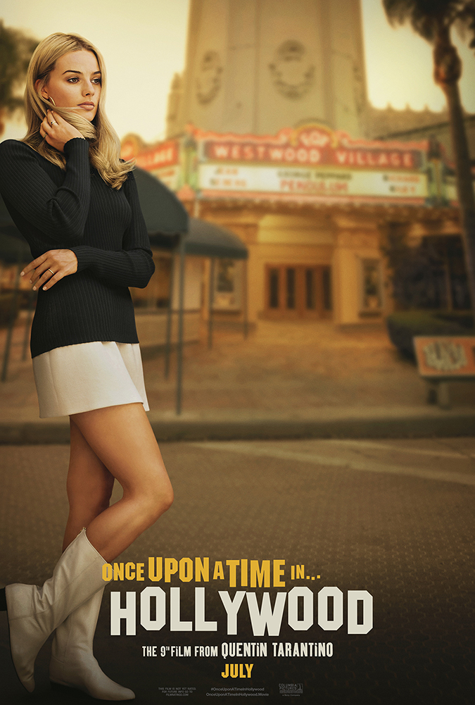 once upon a time in hollywood - movie poster - sony pictures home entertainment