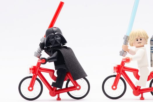 star wars - bicycles - zaidi razak - shutterstock