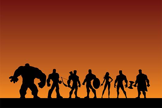 superhero art - Malchev - Shutterstock