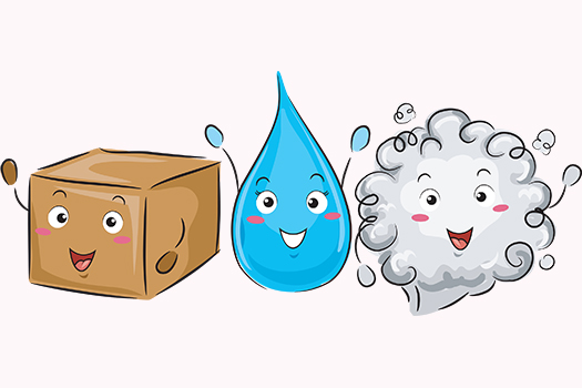 three states of matter - Lorelyn Medina - Shutterstock
