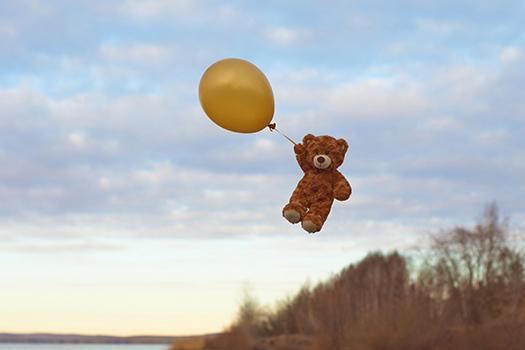 balloon bear - rustamxakim - Shutterstock