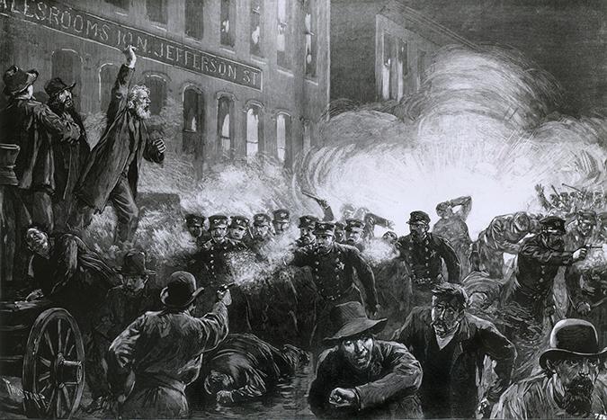 haymarket riot - everett historical - shutterstock