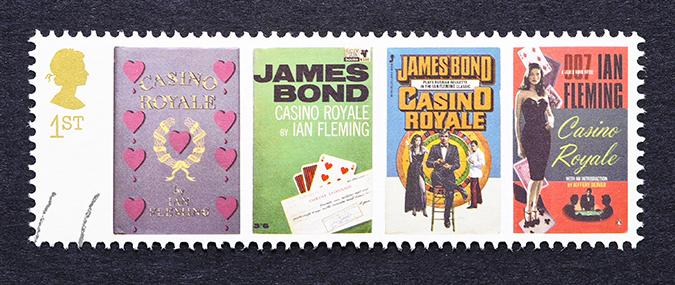 iam fleming stamps - catwalker - shutterstock
