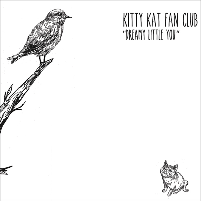 kitty kat fan club - official album art cover - asian man records