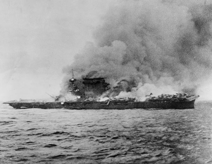 uss lexington - battle of the coral sea - everett historical - shutterstock - embed