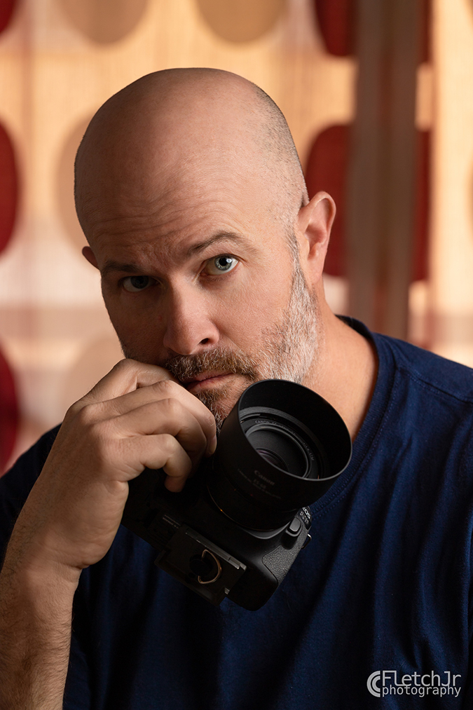 Photographer John Fletcher - SelfPortrait WM-8990-