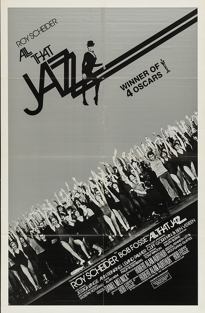 all that jazz - movie poster - 1979 - 20th Century Fox