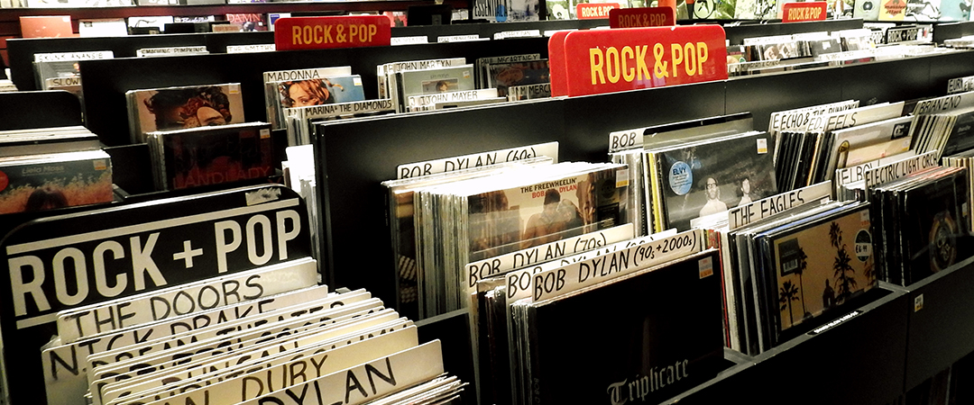 dublin record shop - Derick Hudson - shutterstock - feature