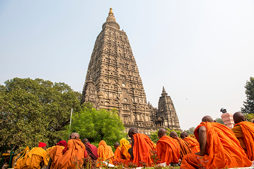 mahabodhi temple - arun sambhu mishra - shutterstock