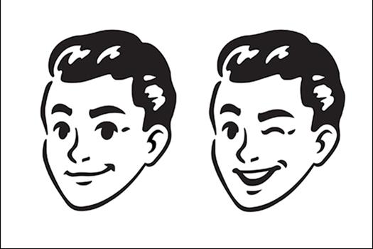 winking man vector - Sudowoodo - Shutterstock
