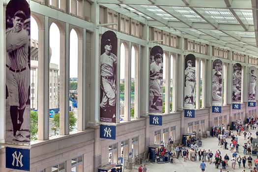 yankee stadium promenade - David W. Leindecker - Shutterstock