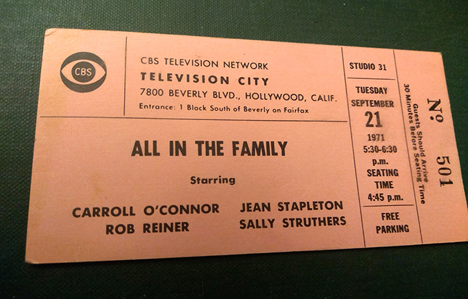 all in the family - admission ticket - Bart Sherkow - Shutterstock - embed