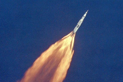 apollo 11 lift-off - july 16 1969 - Everett Historical - Shutterstock