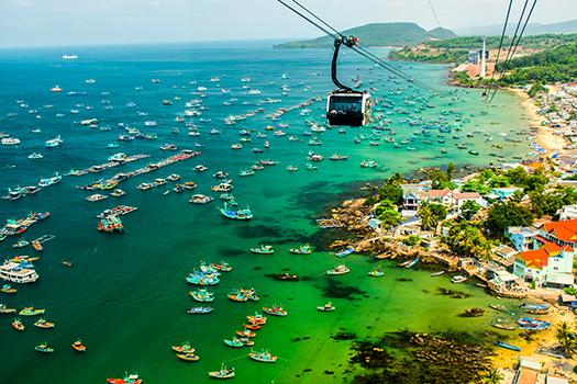phu quoc - cable car - Pavel Szabo - Shutterstock
