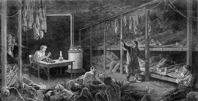 1882 flophouse illustration - Everett Historical - Shutterstock - embed