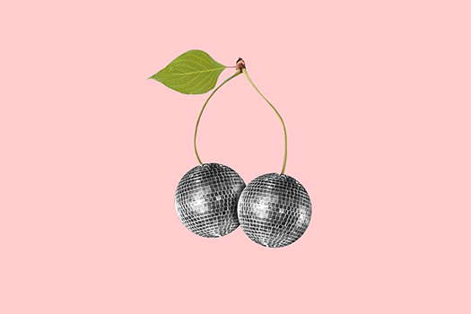 disco cherry balls - Master1305 - Shutterstock