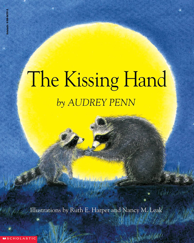 the kissing hand - book cover - scholastic