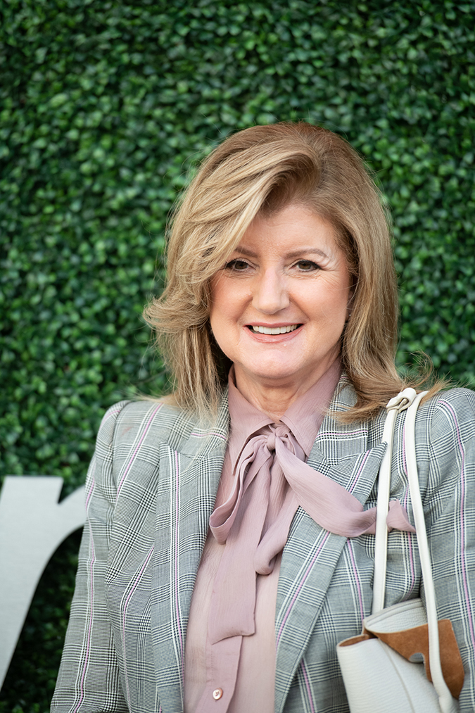 03Sep2019USOpen_1699 - Arianna Huffington - Day 9 - Photo by Neil Bainton