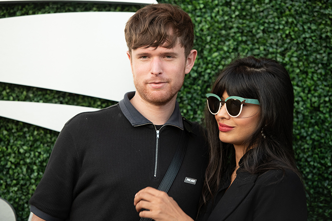 03Sep2019USOpen_1743 - james blake and jameela jamil - day 9 - photo by neil bainton