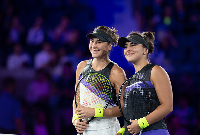 05Sep2019USOpen_1521 - bianca andreescu and belinda bencic - photo by neil bainton