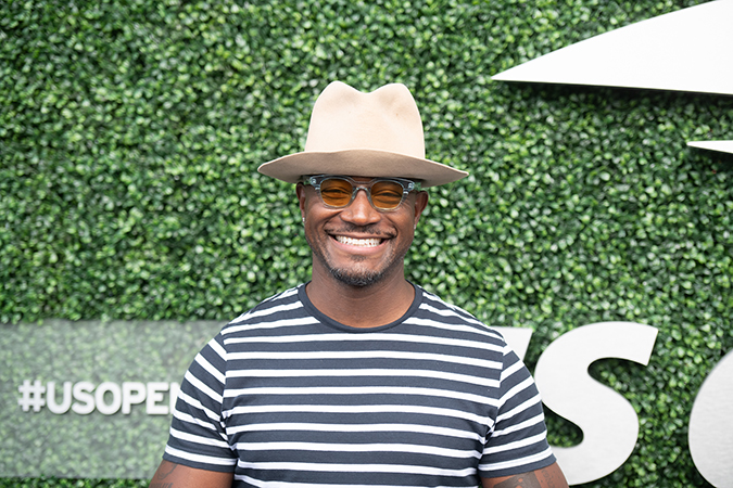 07Sep2019USOpen_0685 - Taye Diggs - photo by Neil Bainton