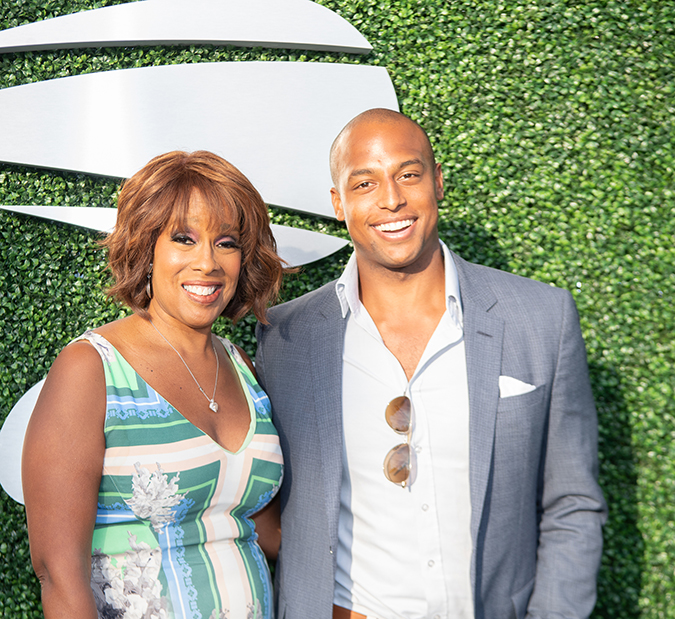 31Aug2019USOpen_1684 - Gayle King - Day Six - Photo by Neil Bainton