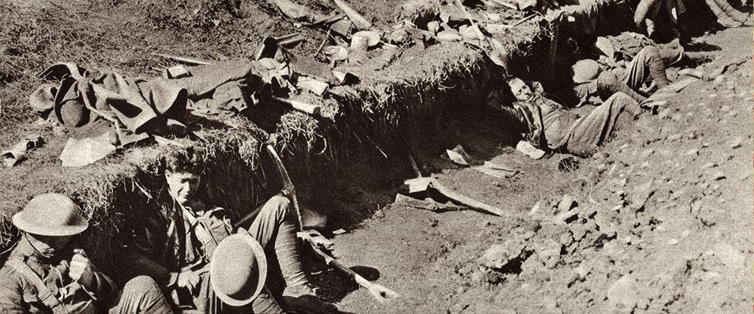Meuse-Argonne Offensive - Everett Historical - Shutterstock