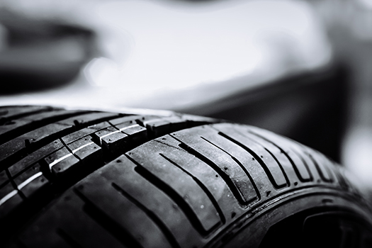 a car tire - MR. KHATAWUT - shutterstock