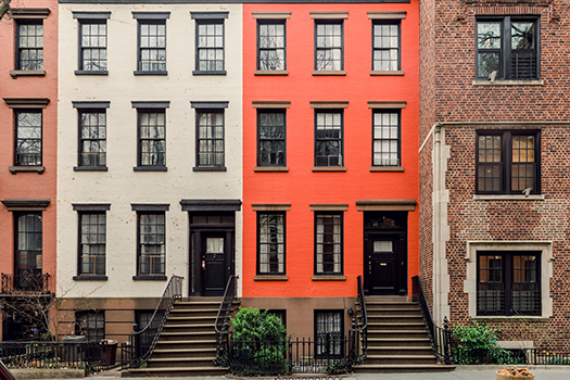 brooklyn facades - photo by jumis - Shutterstock