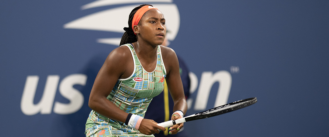 coco gauff - day 4 - 2019 us open - photo by neil bainton