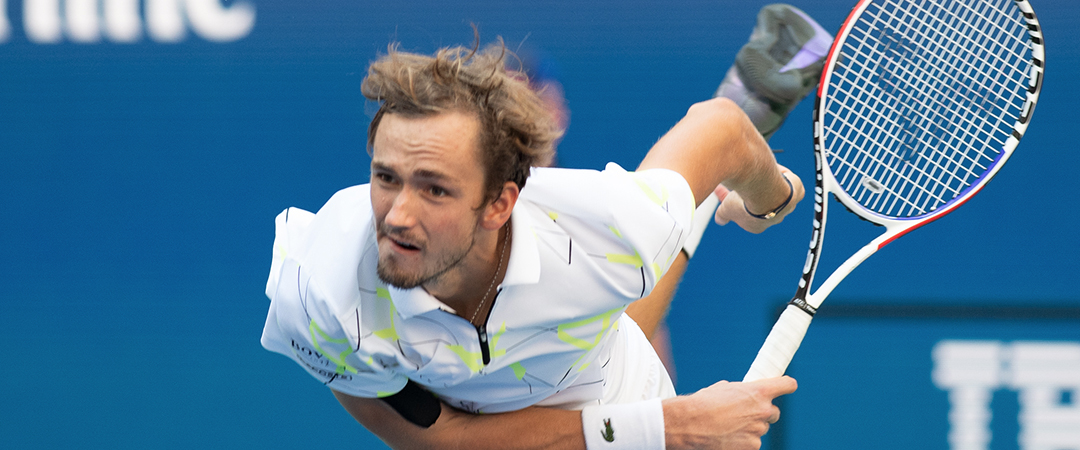 daniil medvedev - day nine - 2019 us open - photo by neil bainton
